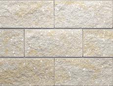 組積用コンクリートブロック「フルール」_yellow