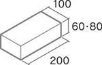 舗装用コンクリートブロック「保水性インター」B6-N1/B8-N1
