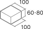 舗装用コンクリートブロック「透水性インター」B6-N2/B8-N2