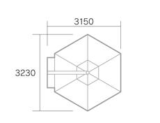 イスキア・レーニョ平面図