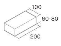 舗装用コンクリートブロック「ドットインター」B6-N1・B8-N1