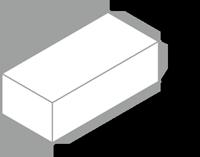 舗装用レンガ材「ビクトリアペイブ」形状図