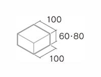 舗装用コンクリートブロック「ドットインター」B6-N2/B8-N2