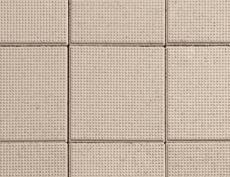舗装用コンクリートブロック「ドットキューブ」ベージュ