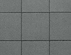 舗装用コンクリートブロック「ドットキューブ」ブラック