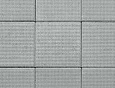 舗装用コンクリートブロック「ドットキューブ」グレー