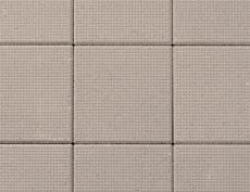 舗装用コンクリートブロック「ドットキューブ」セピア