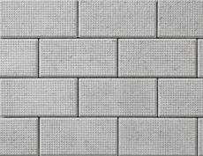 舗装用コンクリートブロック「ドットインター」グレー