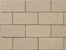 舗装用コンクリートブロック「ドットインター」オーカー