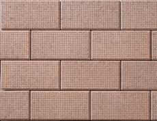 舗装用コンクリートブロック「ドットインター」オレンジ