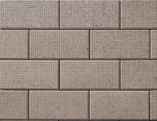 舗装用コンクリートブロック「ドットインター」セピア