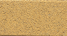 舗装用コンクリートブロック「保水性インター」オレンジ2