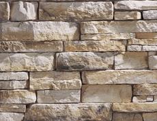 外装用擬石コンクリート製品「マウンテンレッジパネル」オークリッジ
