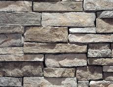 外装用擬石コンクリート製品「マウンテンレッジパネル」シカモア