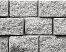 組積用コンクリートブロック「ムーンストーンR」グレー