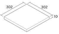 舗装用タイル「オレンセ」3030
