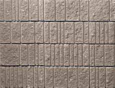 組積用コンクリートブロック「ランダムリシェ」_sepia