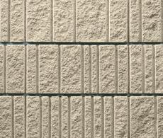 組積用コンクリートブロック「ランダムラグゼ」_split_ocher
