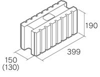「リシェ15」基本横筋兼用型 width=