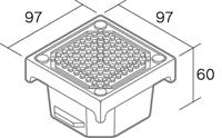 舗装用オプション「ソーラーペイブ」形状図