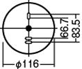 コーディネート門柱灯LGW85044-AF