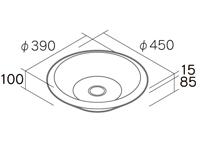プレートパン形状図