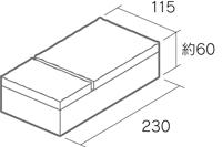 舗装用コンクリートブロック「アッピア」230