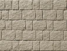 舗装用コンクリートブロック「アッピア」ブラウン