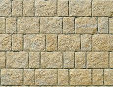 舗装用コンクリートブロック「アッピア」イエロー