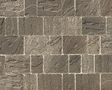 舗装用コンクリートブロック「カッシア」ブラウン