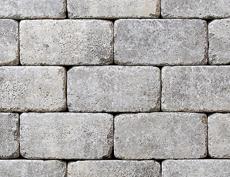 組積・舗装兼用コンクリートブロック「コロール」グレー
