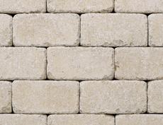 組積・舗装兼用コンクリートブロック「コロール」アイボリー