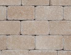 組積・舗装兼用コンクリートブロック「コロール」オレンジ