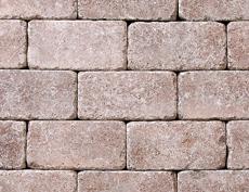 組積・舗装兼用コンクリートブロック「コロール」レッド