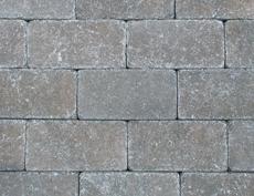 組積・舗装兼用コンクリートブロック「コロール」シルバー