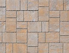 舗装用コンクリートブロック「カッシア」アジロ張り