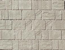 舗装用コンクリートブロック「カッシア」シルバー