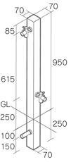 ピコーポール形状図
