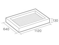ガーデンシンク形状図
