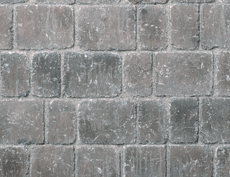 舗装用コンクリートブロック「シャロール」シルバー