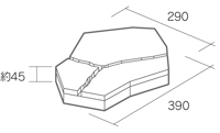 舗装用コンクリートブロック「ティーナ」基本