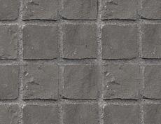 キューブストーン(安山岩)ファーンシブラック