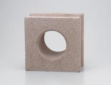 組積用コンクリートブロックオプション「ガラスブロック」セルクル_beige