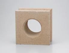 組積用コンクリートブロックオプション「ガラスブロック」セルクル_ocher