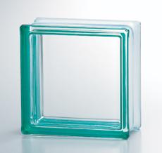 組積用コンクリートブロックオプション「ガラスブロック」_green