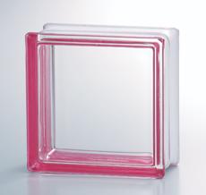 組積用コンクリートブロックオプション「ガラスブロック」_pink