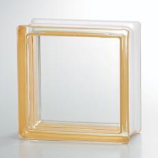 組積用コンクリートブロックオプション「ガラスブロック」_yellow