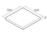 舗装用タイル「ギルガ」3030