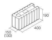組積用コンクリートブロック「グレイス12/15」1502