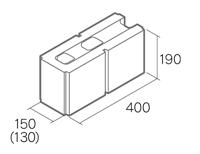 組積用コンクリートブロック「グレイス12/15」1504
